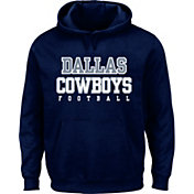 Dallas Cowboys Merchandising Men's Practice Navy Pullover Hoodie