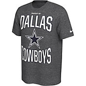 Nike Men's Dallas Cowboys Sideline Property Of Grey T-Shirt