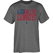 Dallas Cowboys Merchandising Men's Hemingway Grey T-Shirt