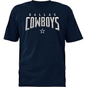Dallas Cowboys Merchandising Men's Ambassador Navy T-Shirt