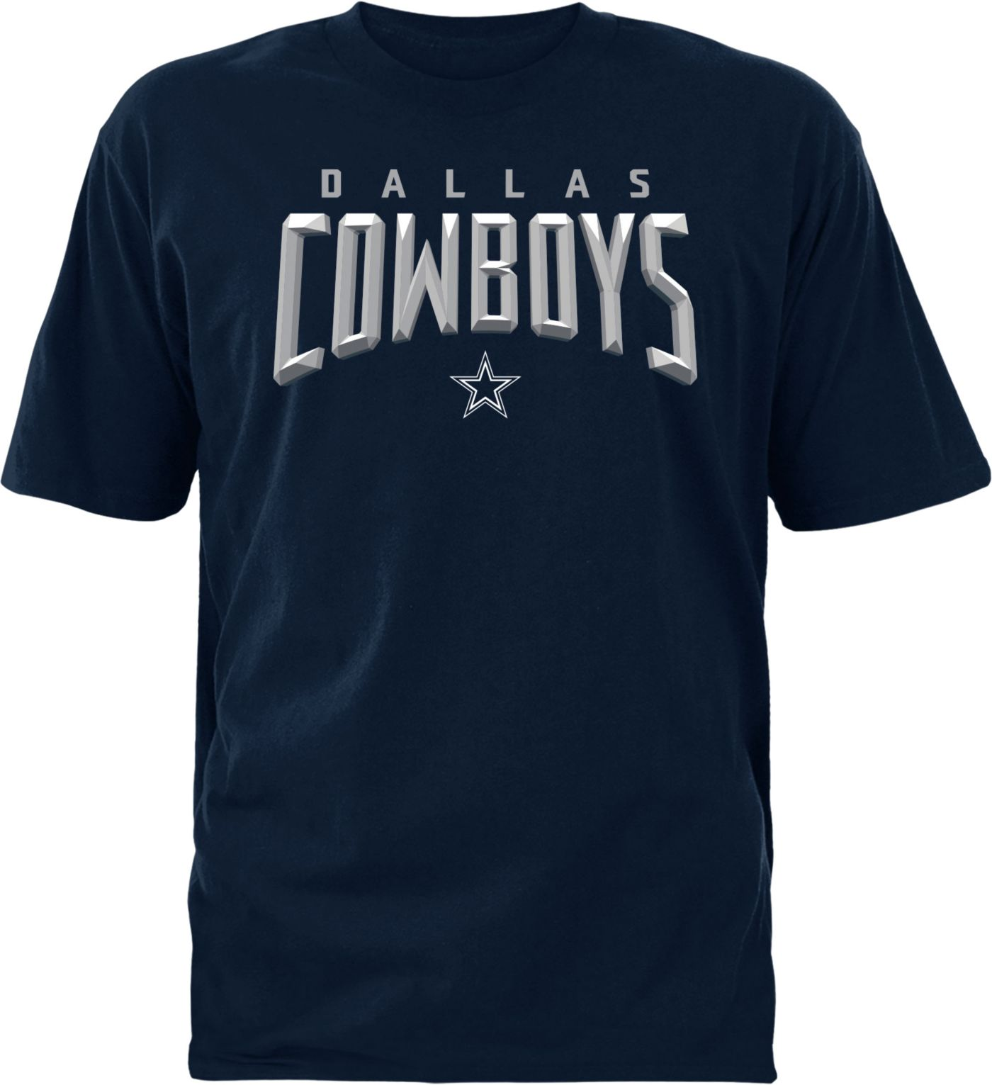 Dallas Cowboys Merchandising Men's Ambassador Navy T-Shirt