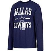 Dallas Cowboys Merchandising Men's Magnus Navy Long Sleeve Shirt