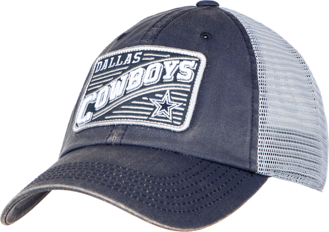 Dallas Cowboys Merchandising Men's Swoop Patch Adjustable Hat
