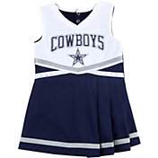 Dallas Cowboys Merchandising Toddler Flyer Navy Cheer Dress
