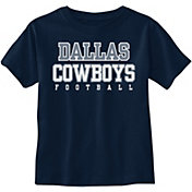 Dallas Cowboys Merchandising Toddler Practice Navy T-Shirt