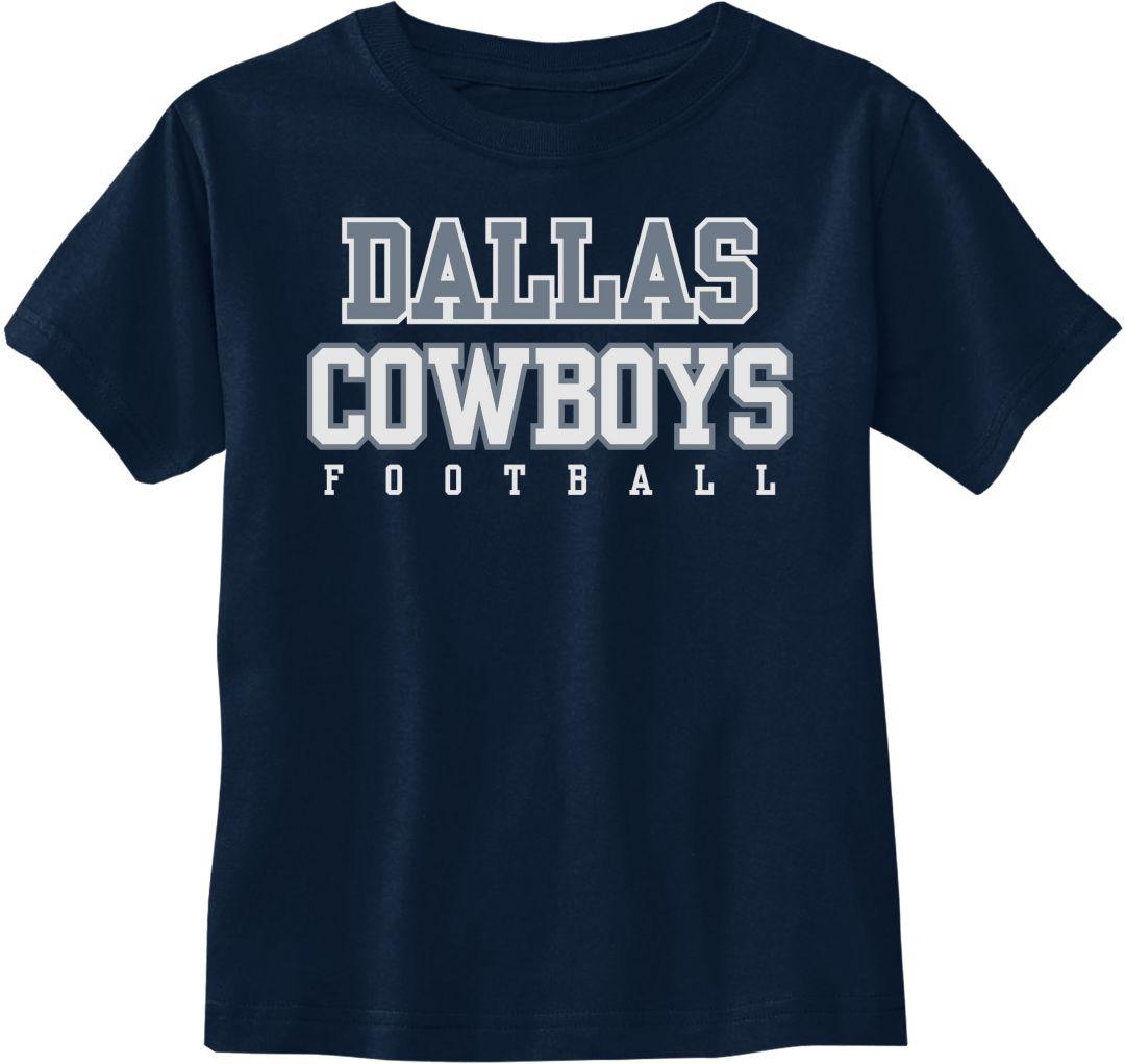 online retailer c764a 4872a Dallas Cowboys Merchandising Toddler Practice Navy T-Shirt