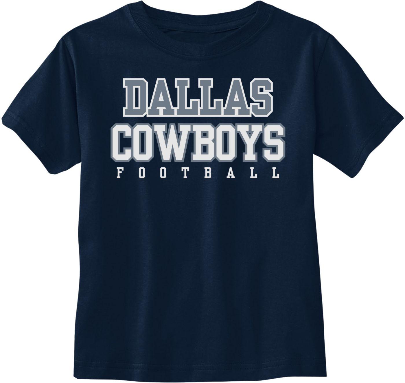 Dallas Cowboys Merchandising Toddler Practice Navy T-Shirt