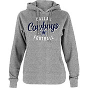 Dallas Cowboys Merchandising Women's Metallic Script Hoodie
