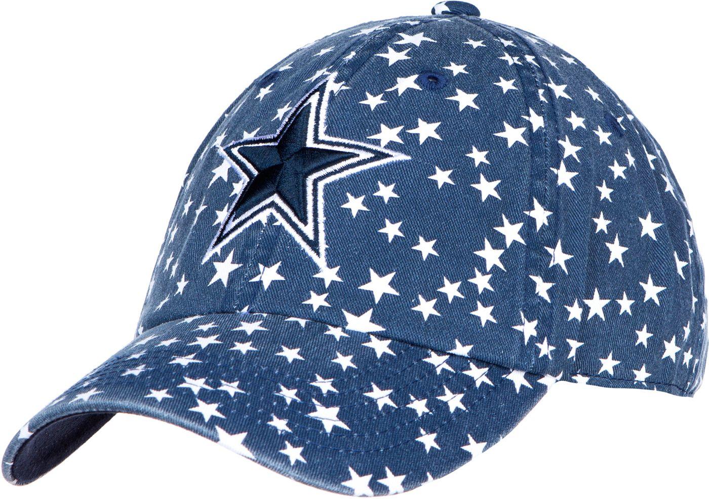 Dallas Cowboys Merchandising Women's Cassiopeia Navy Adjustable Hat
