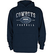 Dallas Cowboys Merchandising Youth Robbie Football Navy Hoodie
