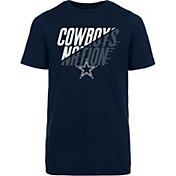 Dallas Cowboys Merchandising Youth Keegan Metallic Navy T-Shirt