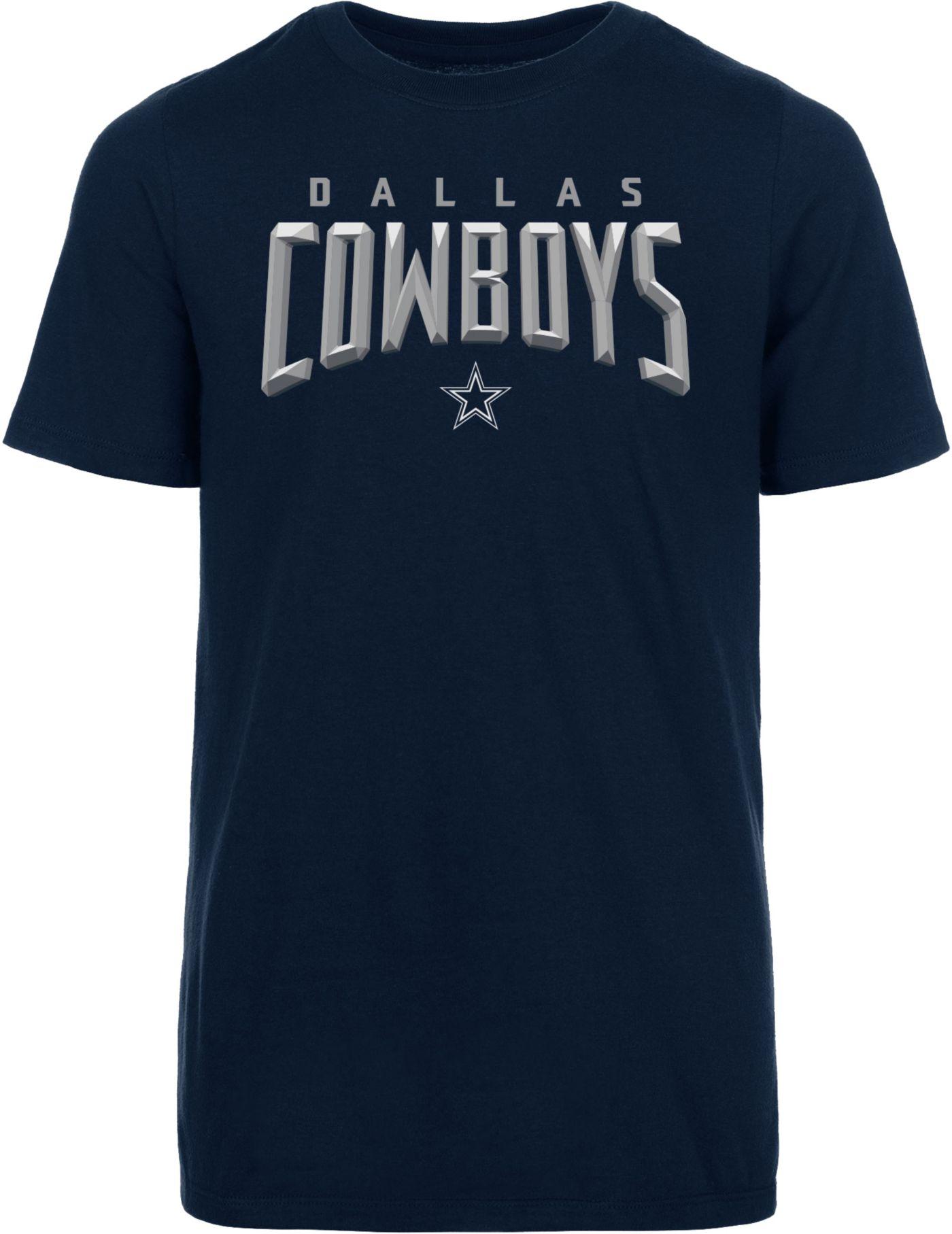 Dallas Cowboys Merchandising Youth Ambassador Navy T-Shirt