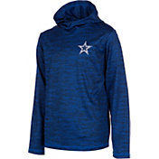 Dallas Cowboys Merchandising Youth Sublimated Hooded Long Sleeve Navy Shirt
