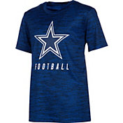 Dallas Cowboys Merchandising Youth Sublimated Navy T-Shirt