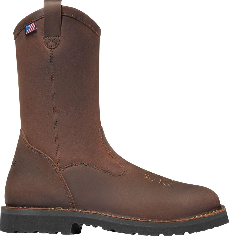 "Danner Men's Bull Run Wellington 11"" EH Square Toe Work Boots"