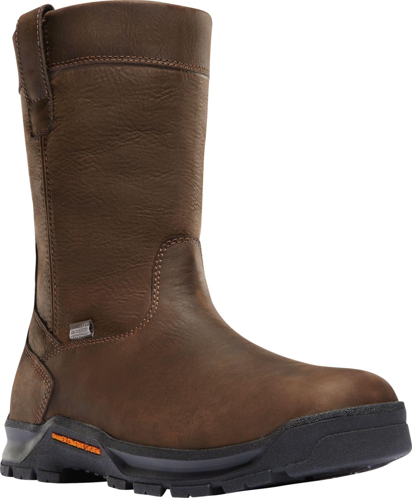 """Danner Men's Crafter Wellington 11"""" EH Waterproof Composite Toe Work Boots"""