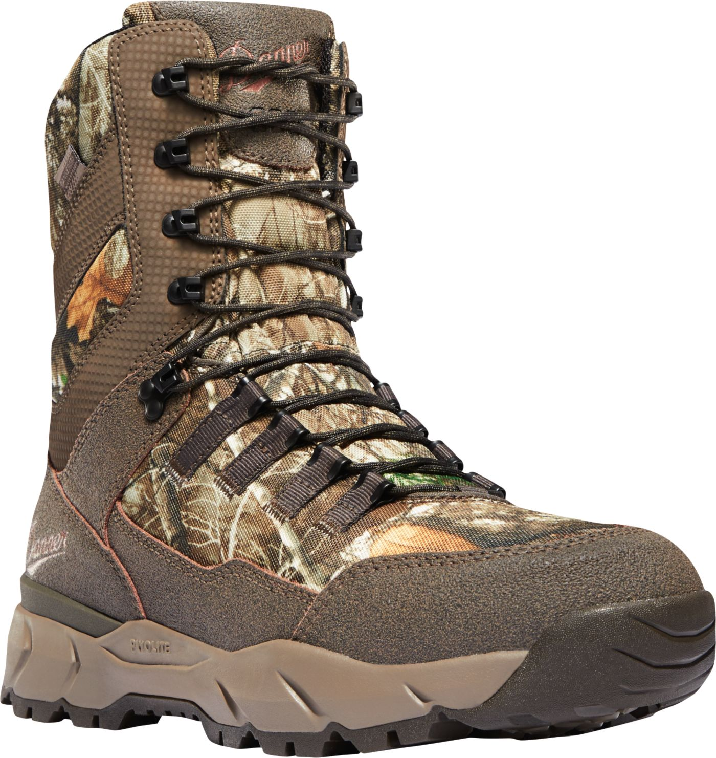 "Danner Men's Vital 8"" Realtree Edge 800g Waterproof Hunting Boots"