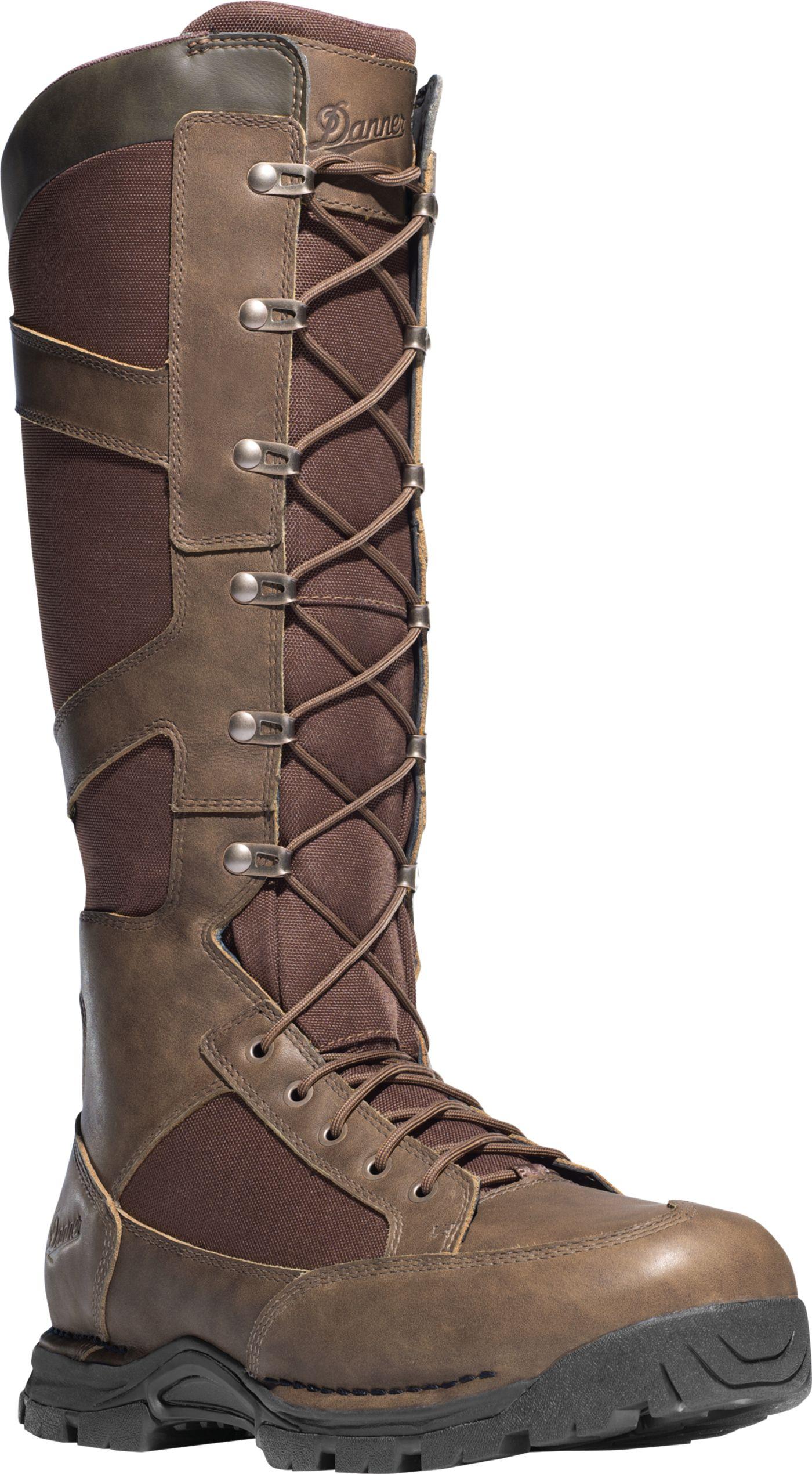 Danner Men's Pronghorn Side-Zip 17'' Waterproof Snake Boots