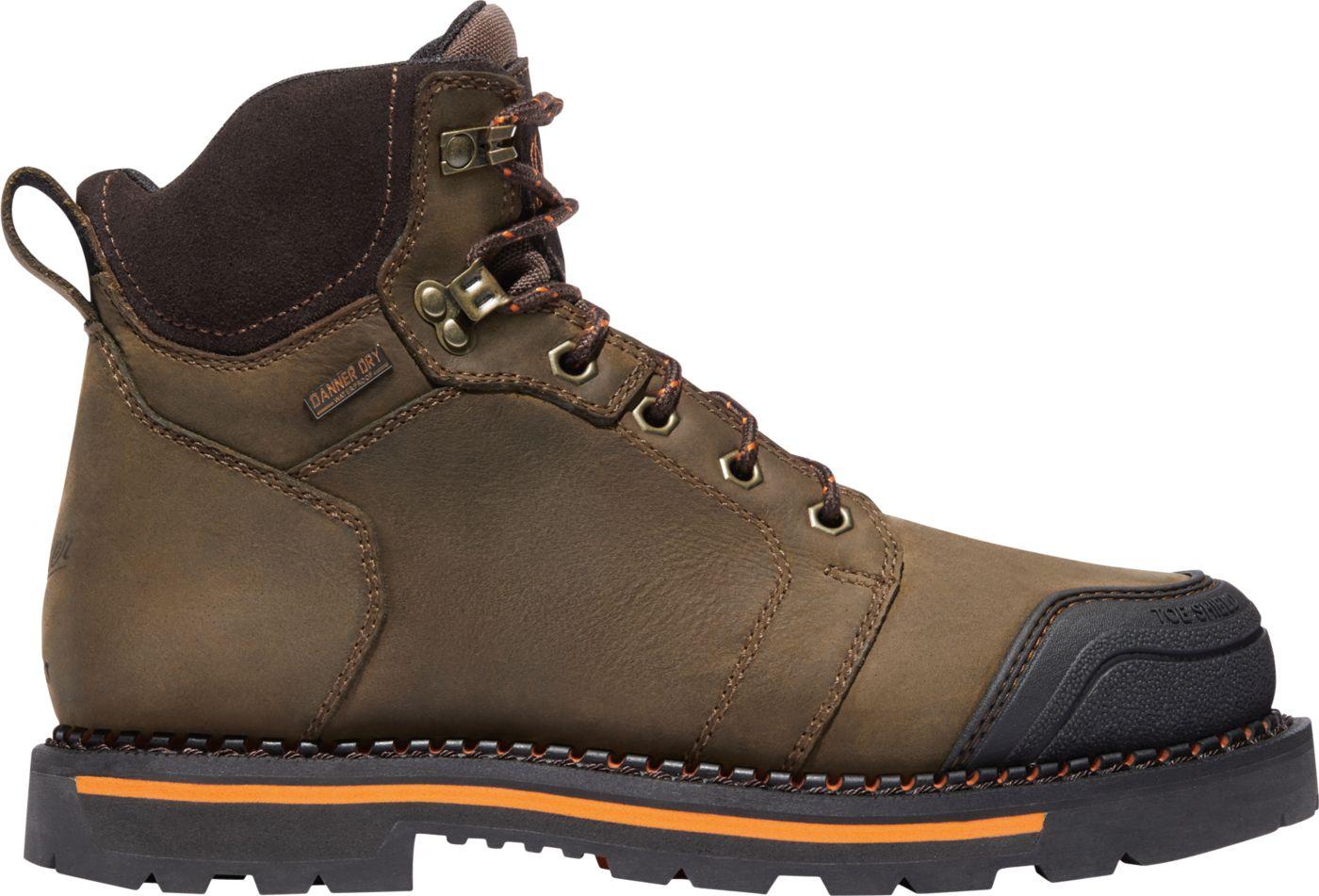 """Danner Men's Trakwelt 6"""" Waterproof Composite Toe Work Boots"""