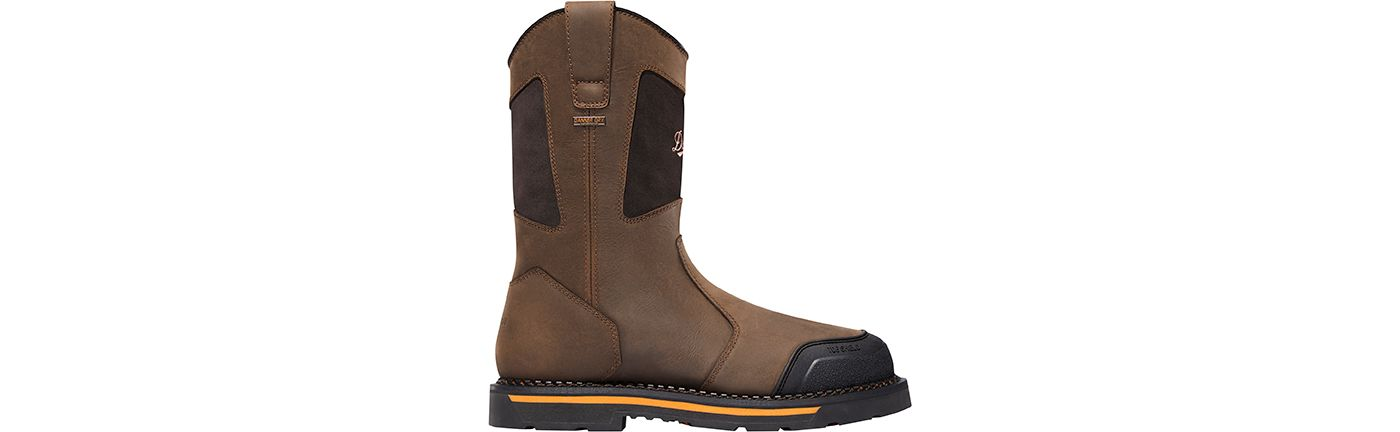 "Danner Men's Trakwelt Wellington 11"" Waterproof Composite Toe Work Boots"