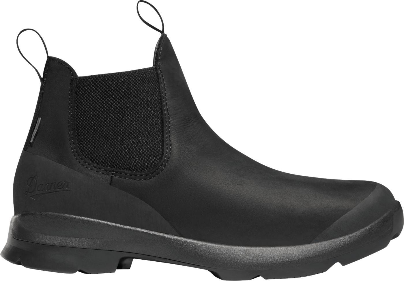 Danner Women's Pub Garden 4.5'' Chelsea Waterproof Work Boots