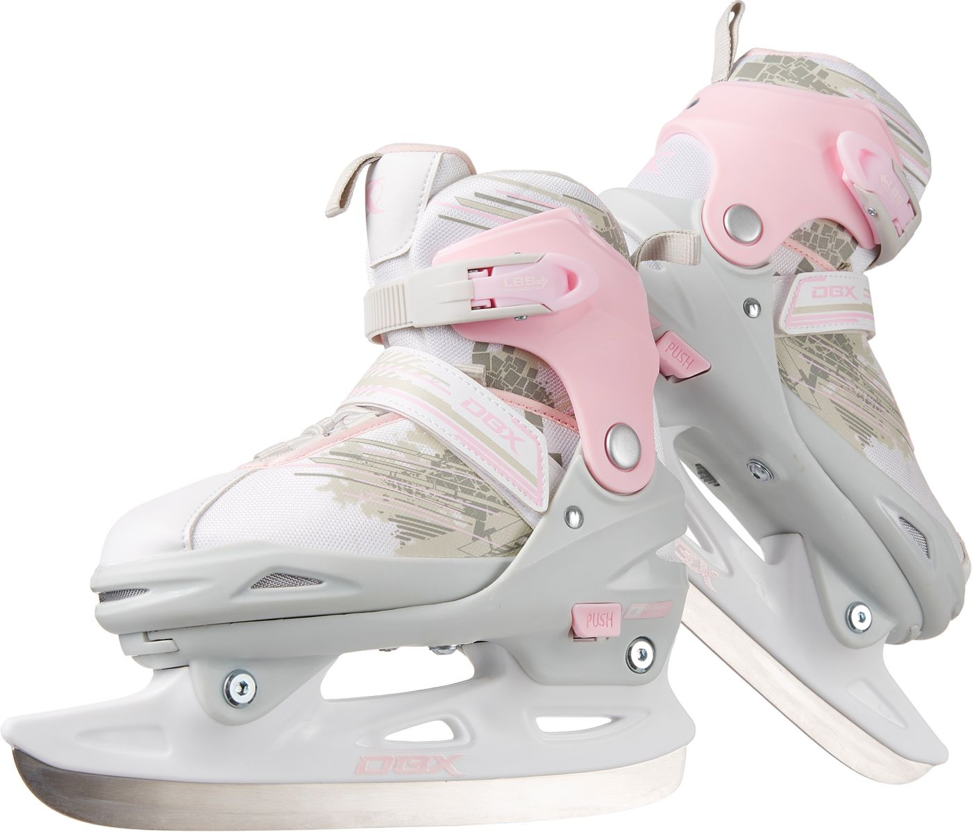 DBX Girl's Adjustable Ice Skates '20