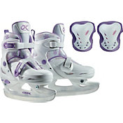 DBX Girls' Adjustable Skates Package '20