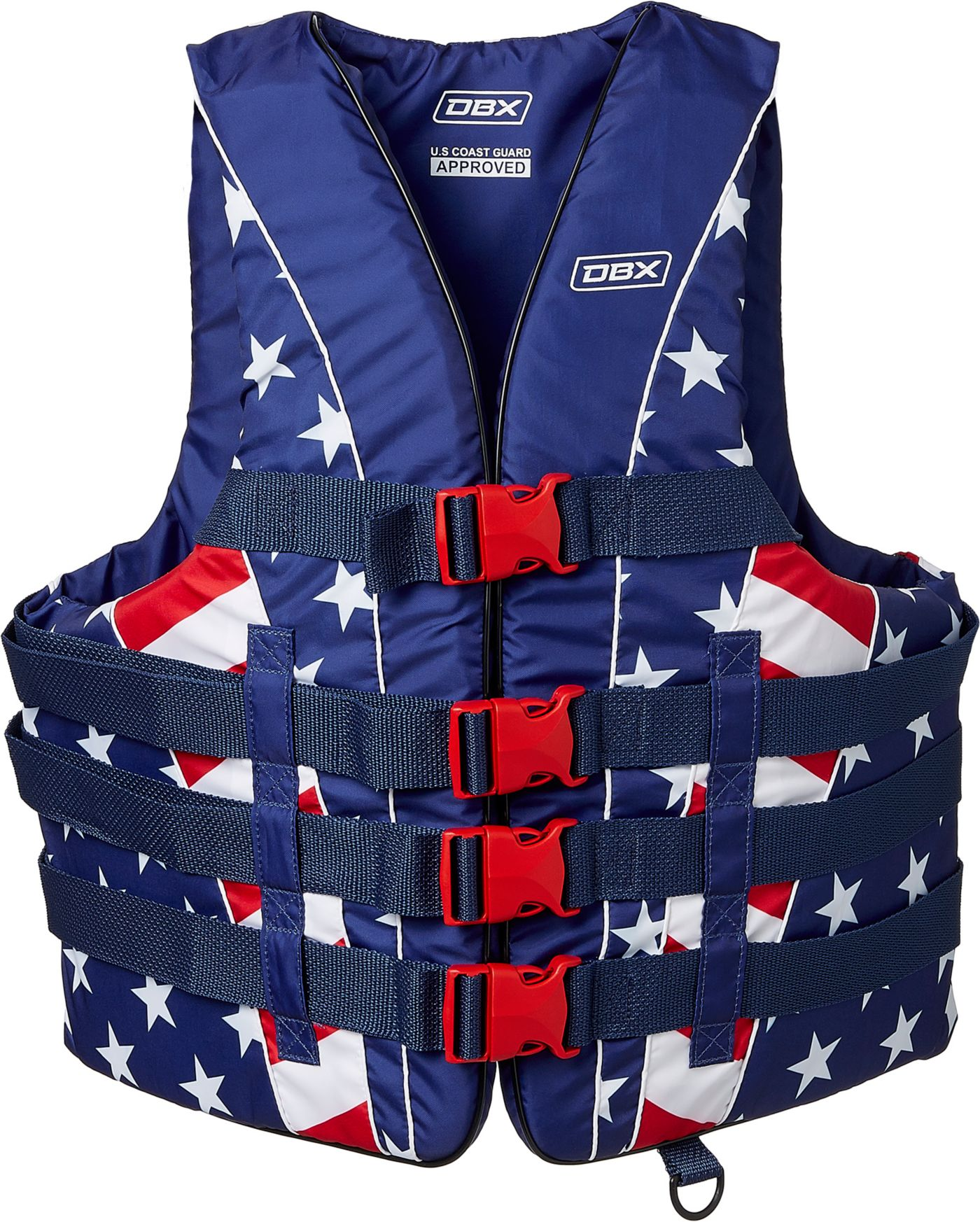 DBX Men's Americana Series USA Life Vest