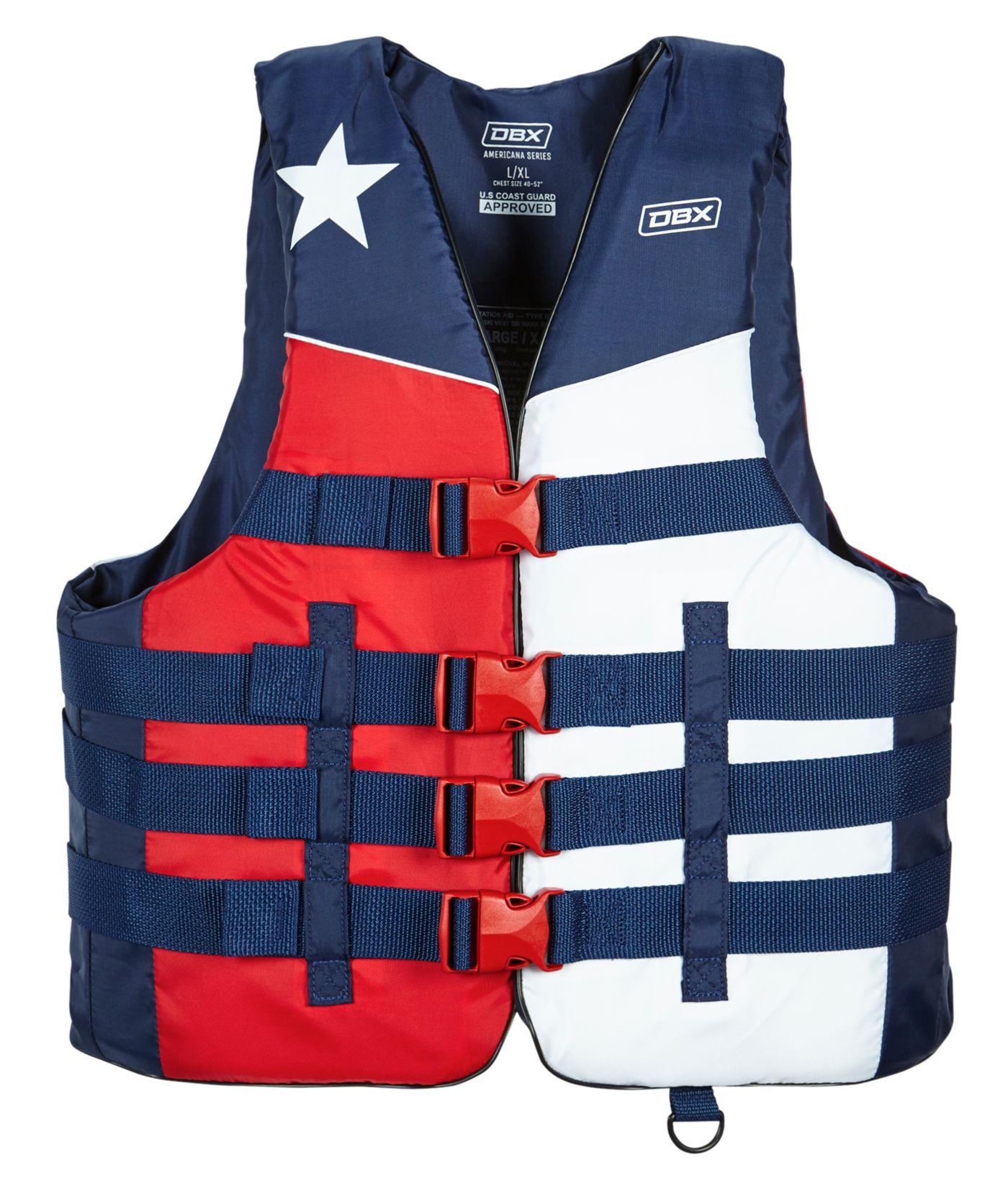 DBX Men's Americana Series Texas Life Vest