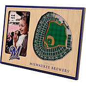 You the Fan Milwaukee Brewers 3D Picture Frame