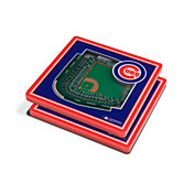 You the Fan Chicago Cubs 3D Stadium Views Coaster Set