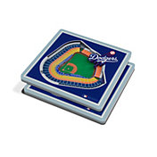 You the Fan Los Angeles Dodgers 3D Stadium Views Coaster Set