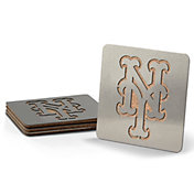 You the Fan New York Mets Coaster Set
