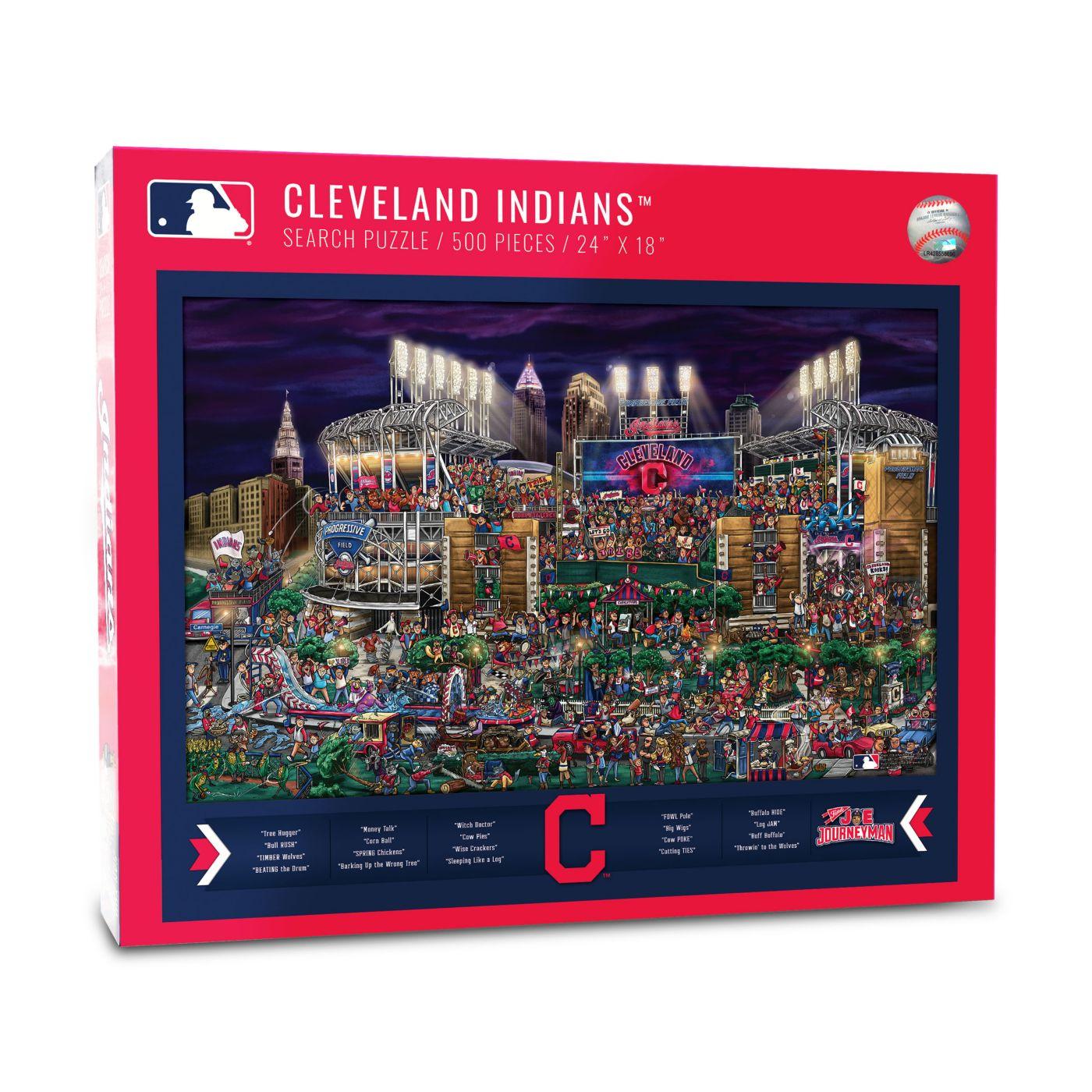 You the Fan Cleveland Indians Find Joe Journeyman Puzzle