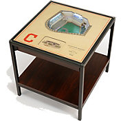 You The Fan Cleveland Indians 25-Layer StadiumViews Lighted End Table