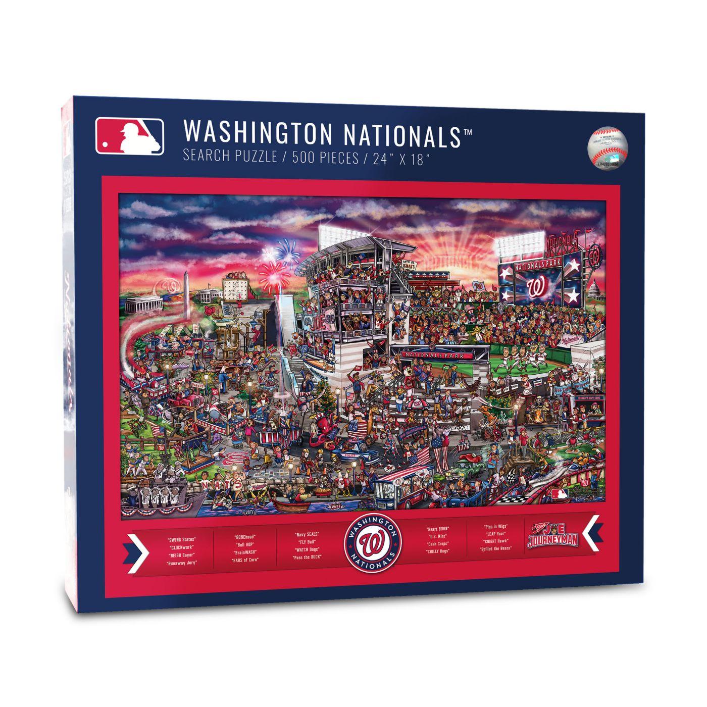You the Fan Washington Nationals Find Joe Journeyman Puzzle