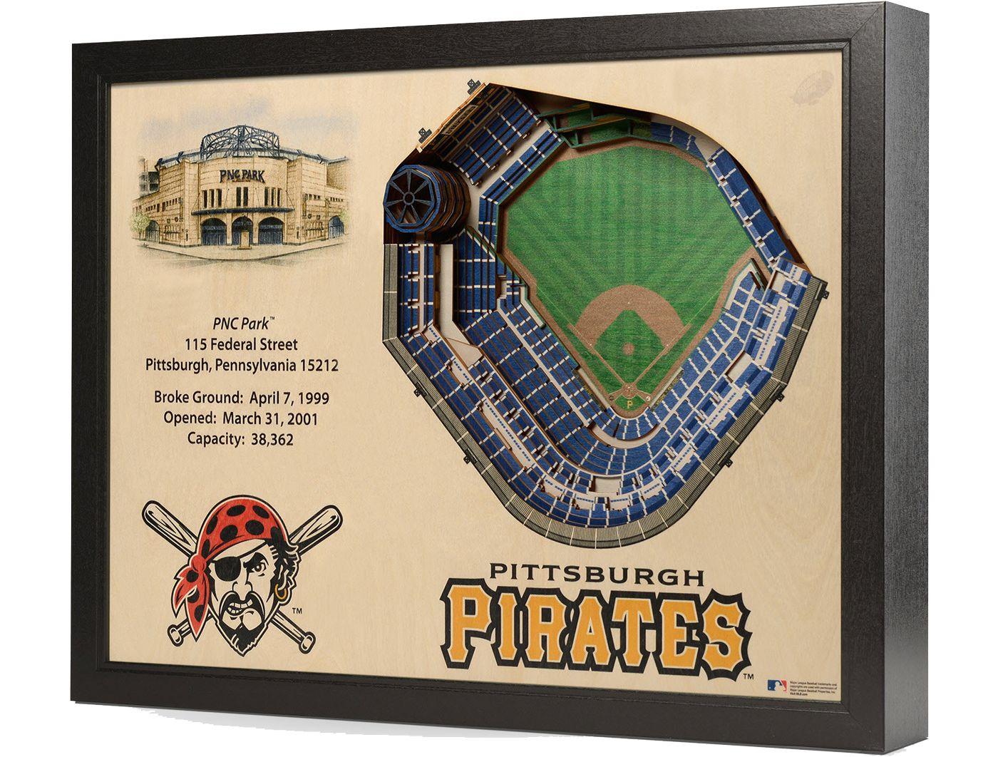 You the Fan Pittsburgh Pirates 25-Layer StadiumViews 3D Wall Art