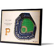 You the Fan Pittsburgh Pirates 5-Layer StadiumViews 3D Wall Art