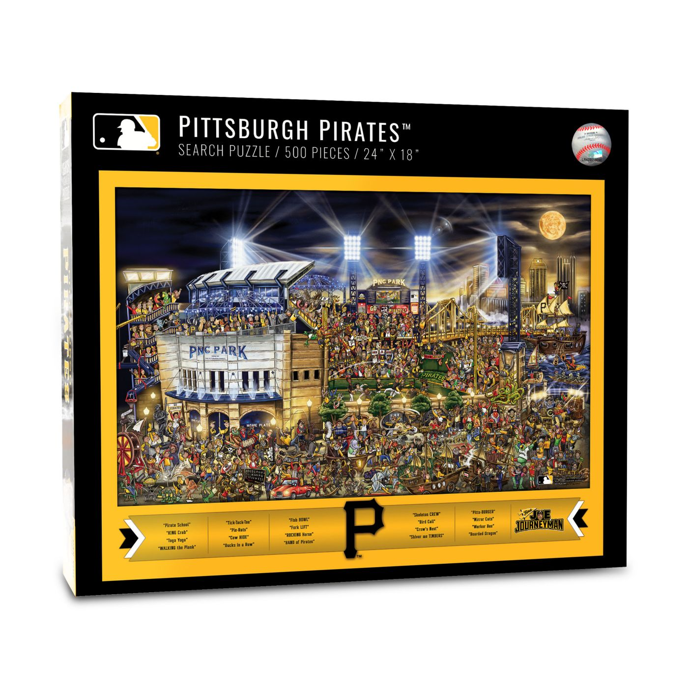You the Fan Pittsburgh Pirates Find Joe Journeyman Puzzle