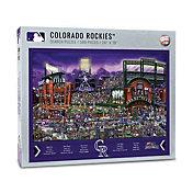 You the Fan Colorado Rockies Find Joe Journeyman Puzzle
