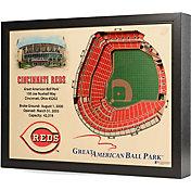 You the Fan Cincinnati Reds 25-Layer StadiumViews 3D Wall Art