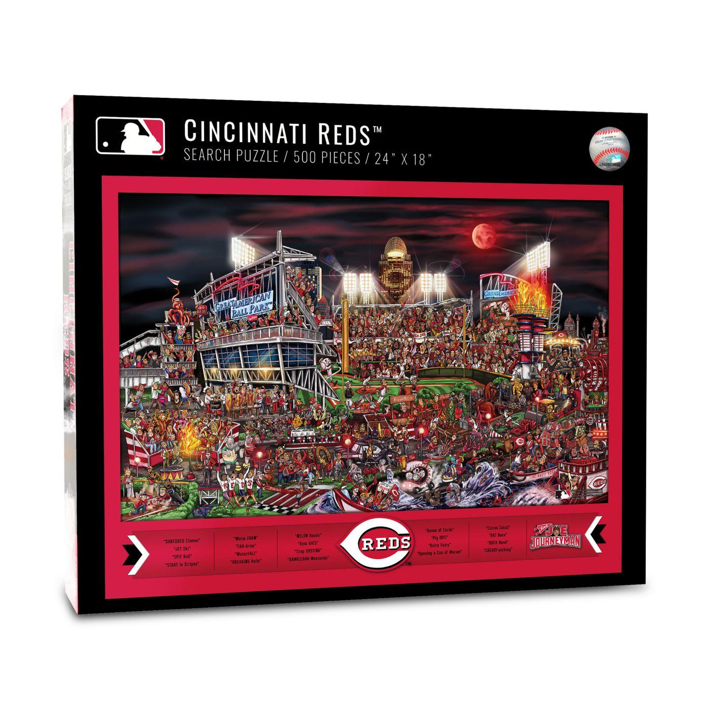 You the Fan Cincinnati Reds Find Joe Journeyman Puzzle