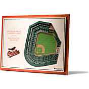 You the Fan Baltimore Orioles 5-Layer StadiumViews 3D Wall Art