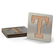 You the Fan Texas Rangers Coaster Set