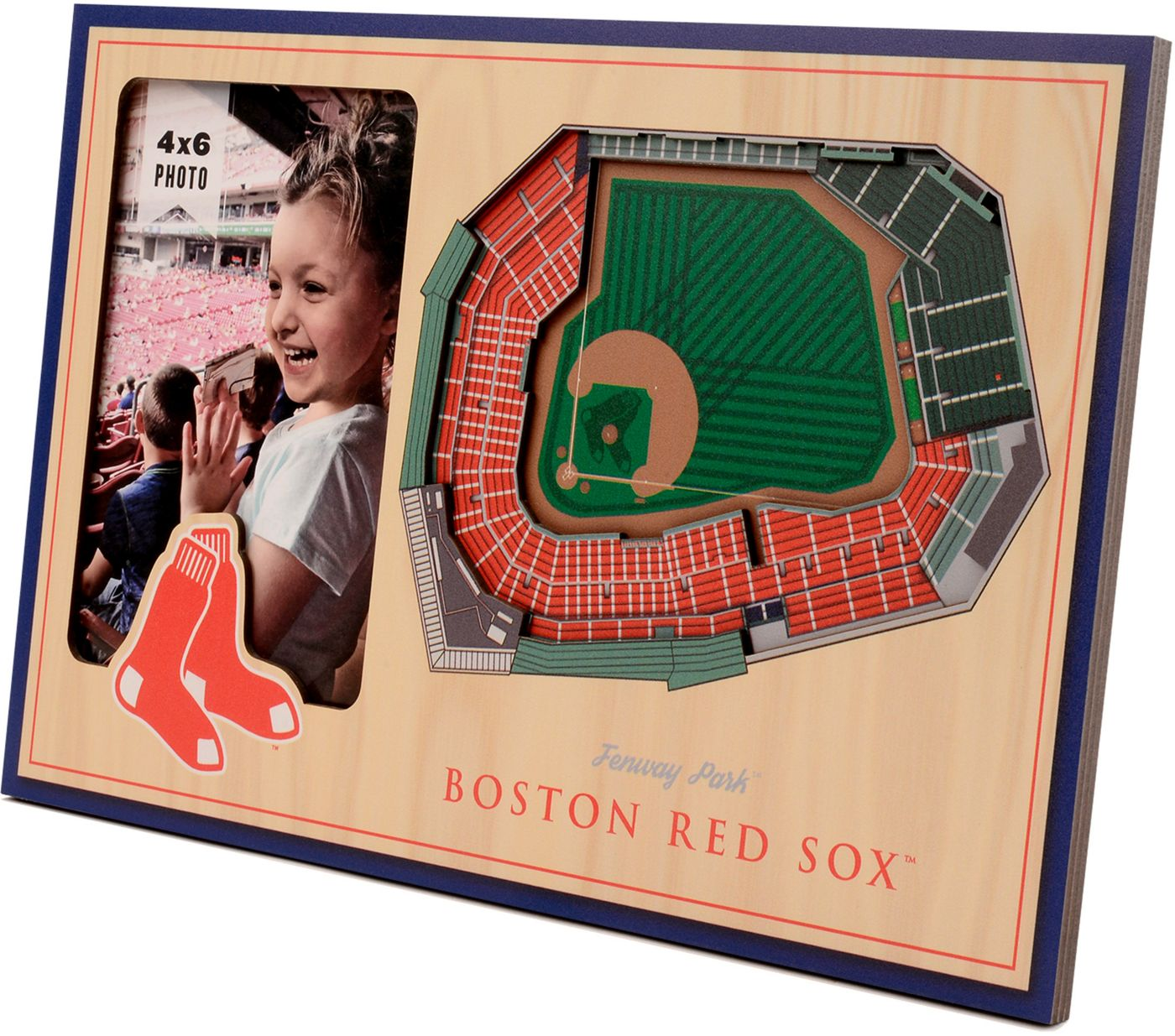 You the Fan Boston Red Sox 3D Picture Frame