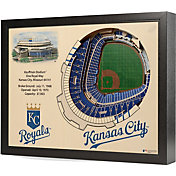 You the Fan Kansas City Royals 25-Layer StadiumViews 3D Wall Art