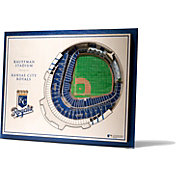 You the Fan Kansas City Royals 5-Layer StadiumViews 3D Wall Art