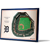 You the Fan Detroit Tigers 5-Layer StadiumViews 3D Wall Art
