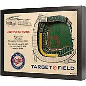 You the Fan Minnesota Twins 25-Layer StadiumViews 3D Wall Art