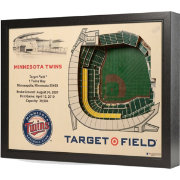 You the Fan Minnesota Twins 25-Layer StadiumViews 3D Wall Art